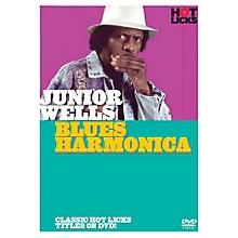 Music Sales Junior Wells - Blues Harmonica Music Sales America Series DVD Written by Junior Wells
