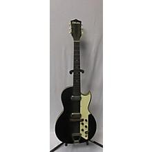 Silvertone Jupiter Black Solid Body Electric Guitar