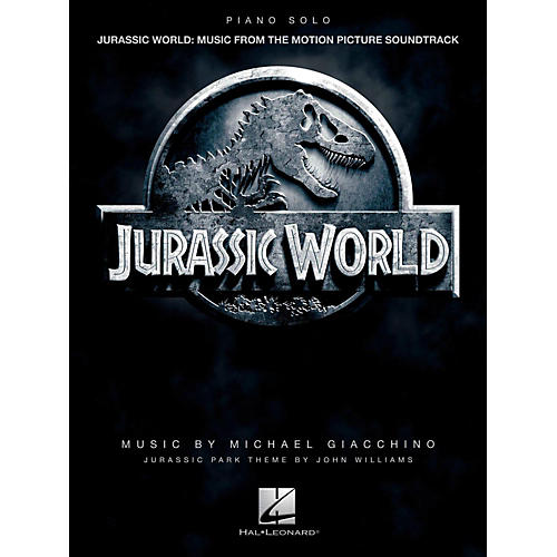 Hal Leonard Jurassic World - Music From The Motion Picture Soundtrack Piano Solo Songbook