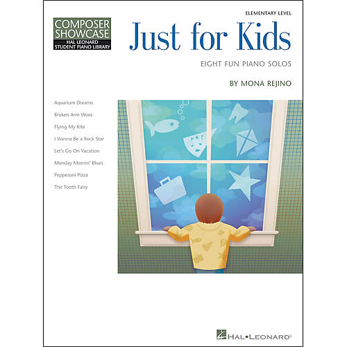 Hal Leonard Just For Kids  -Eight Fun Piano Solos -Composer Showcase Elementary Level-thumbnail