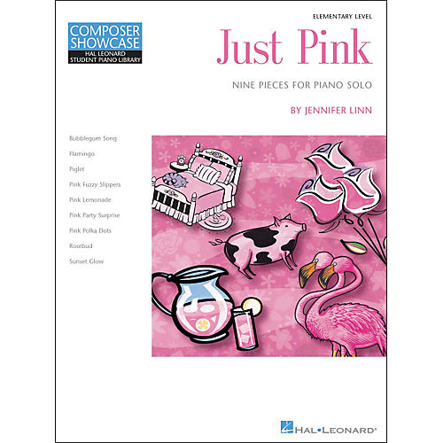 Hal Leonard Just Pink - Elementary Level Piano Solo Hal Leonard Student Piano Library by Jennifer Linn