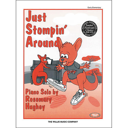 Willis Music Just Stompin' Around Early Elementary Piano Solo by Rosemary Hughey-thumbnail