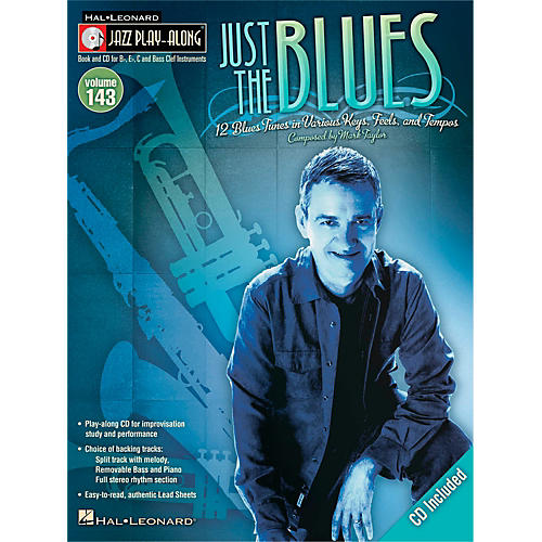 Hal Leonard Just The Blues - Jazz Play- Along Volume 143 Book/CD
