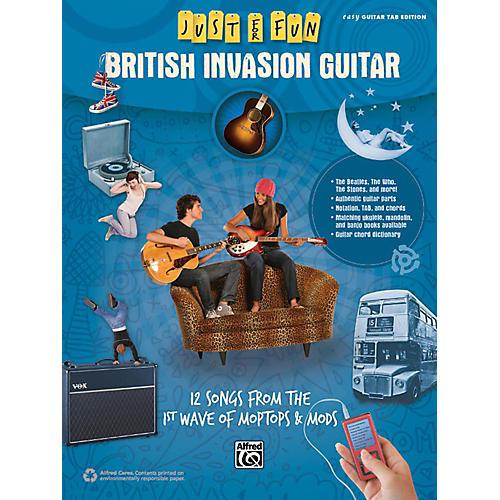 Alfred Just for Fun British Invasion Guitar Book-thumbnail