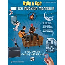 Alfred Just for Fun British Invasion Mandolin Book
