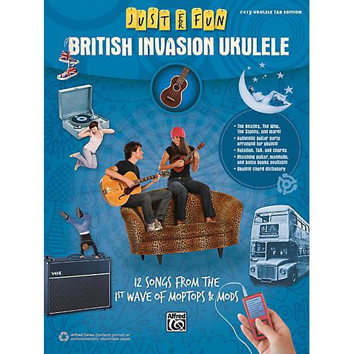 Alfred Just for Fun British Invasion Ukulele Book-thumbnail