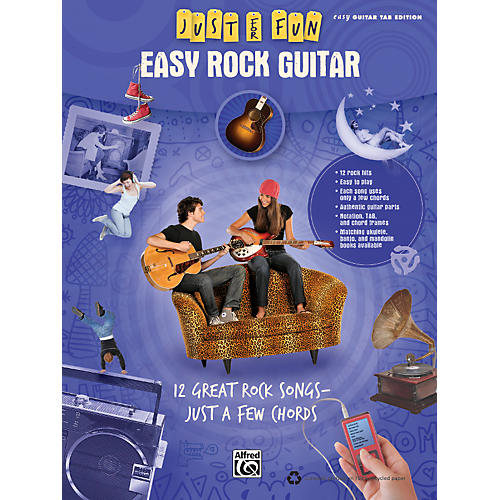 Alfred Just for Fun: Easy Rock Guitar (Book)