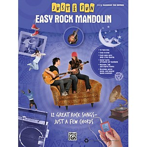 Alfred Just for Fun: Easy Rock Mandolin Book by Alfred