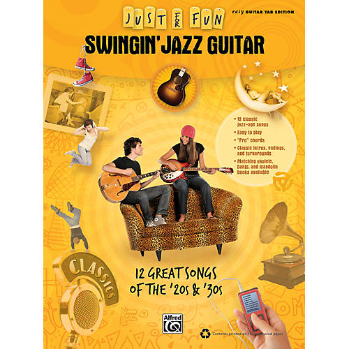 Alfred Just for Fun: Swingin' Jazz Guitar (Book)