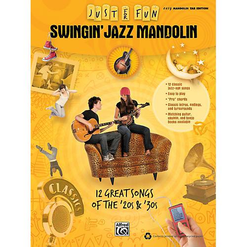 Alfred Just for Fun: Swingin' Jazz Mandolin (Book)