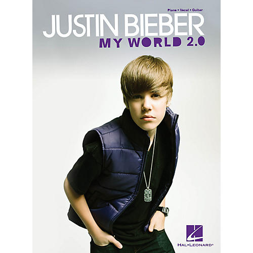 Hal Leonard Justin Bieber - My World 2.0 PVG Songbook