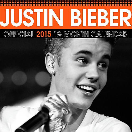 Browntrout Publishing Justin Bieber 2015 Calendar Square 12x12-thumbnail