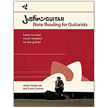 Music Sales Justin Guitar - Note Reading For Guitarists