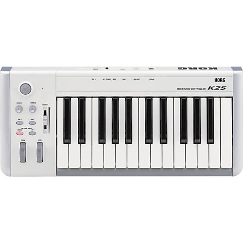 Korg K-25 25-Key USB MIDI Keyboard Controller-thumbnail