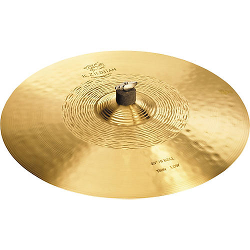Zildjian K Constantinople Hi Bell Thin Ride, Low Cymbal-thumbnail