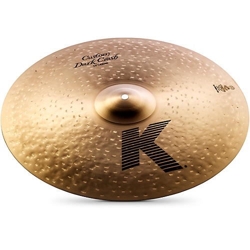 Zildjian K Custom Dark Crash Cymbal  17 in.