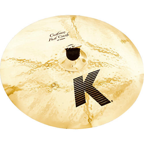 Zildjian K Custom Fast Crash Cymbal-thumbnail