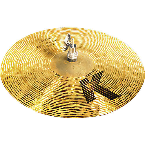 Zildjian K Custom High Definition Hi-Hat Cymbal Top 14 in.