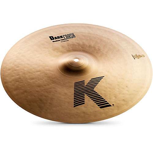 Zildjian K Dark Medium-Thin Crash Cymbal-thumbnail