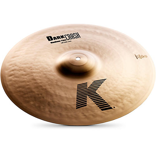 Zildjian K Dark Medium-Thin Crash Cymbal  18 in.