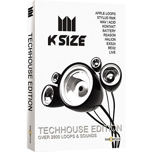 Best Service K Size Techhouse Edition Loops & Sound Library