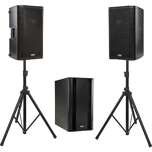 QSC K10 / KSub Powered Speaker Package-thumbnail