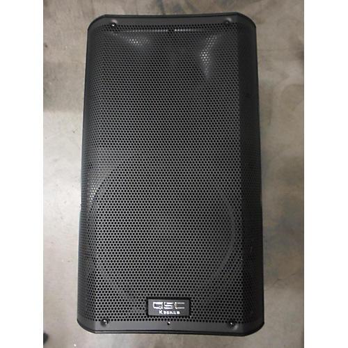 QSC K12 Black Powered Speaker
