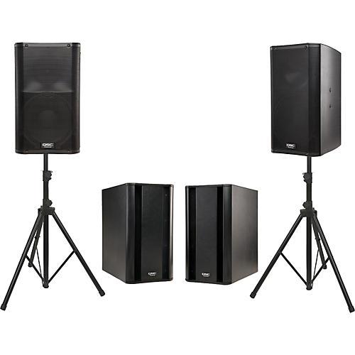 QSC K12 Powered Speaker Dual Sub Package-thumbnail