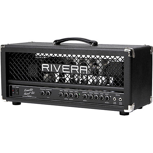Rivera K120TRE Knucklehead Tre 120W Tube Guitar Amp Head Black