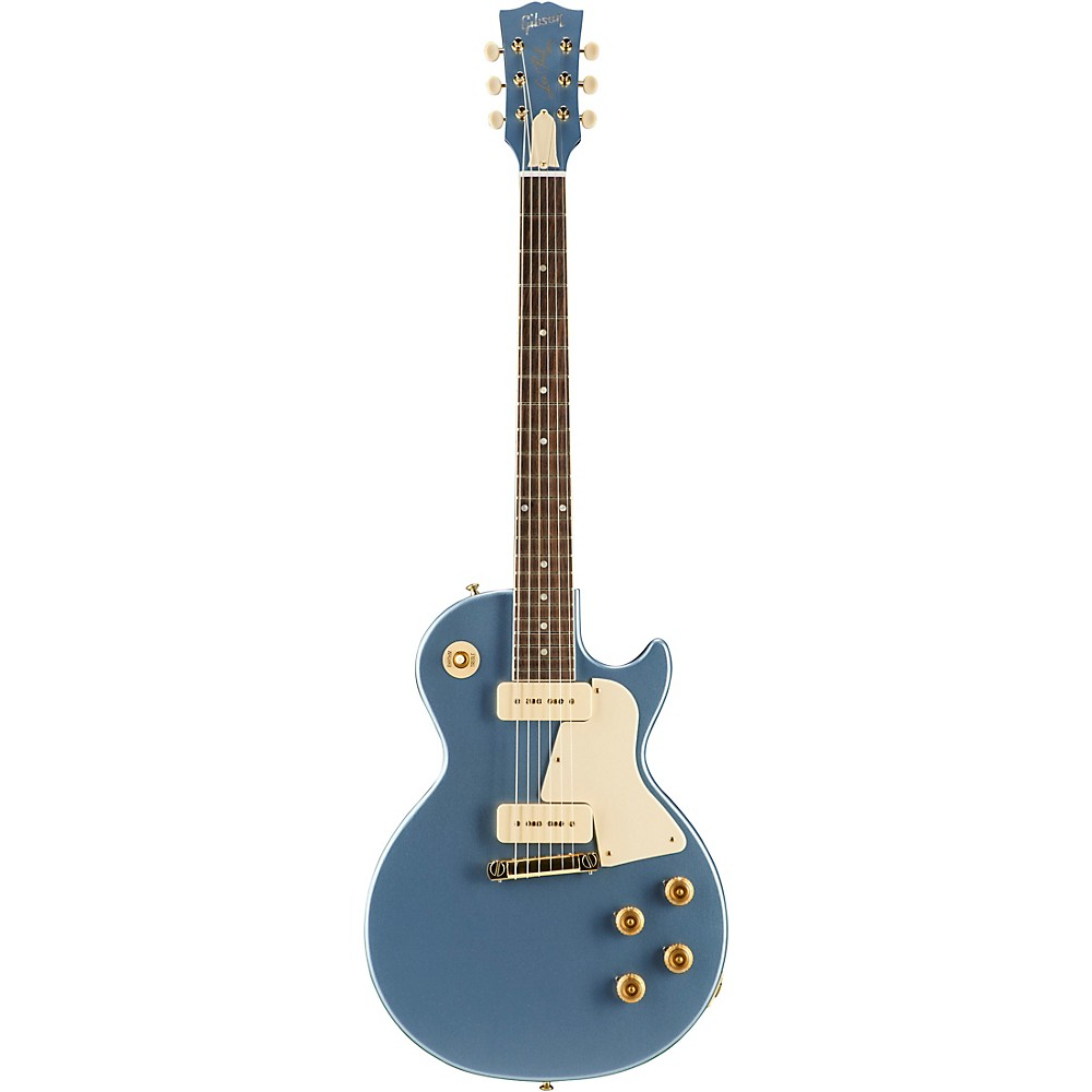 Gibson Custom 2017 Limited Edition Les Paul Special Single Cut Electric Guitar Pelham Blue White Pickguard 1500000114241