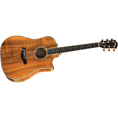 Taylor K20ce-L Koa Dreadnought Left-Handed Acoustic-Electric Guitar
