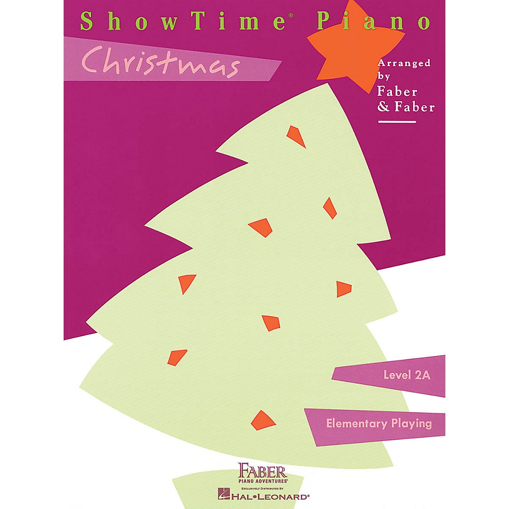 Faber Piano Adventures Showtime Christmas (Level 2A) Faber Piano Adventures Series Cd 1500000122508