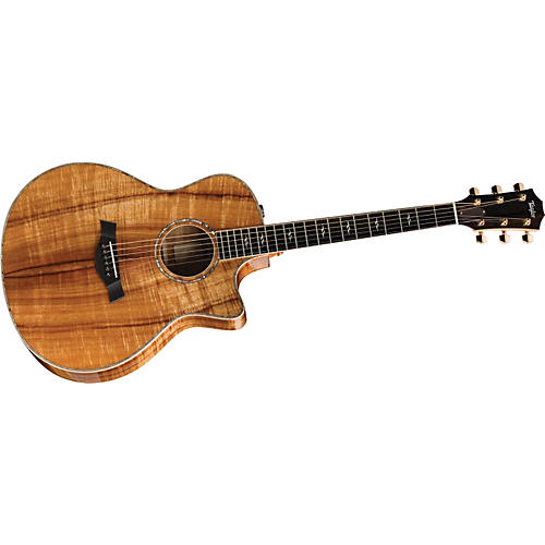 Taylor K26ce-L Koa Grand Symphony Left-Handed Acoustic-Electric