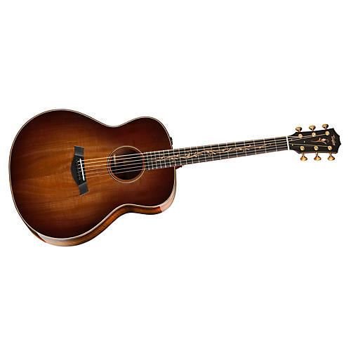 Taylor K28e Grand Orchestra Acoustic-Electric Guitar Shaded Edgeburst Koa