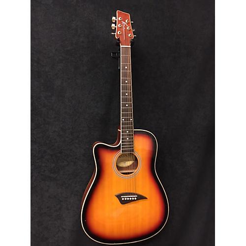 Kona K2LTSB Acoustic Electric Guitar-thumbnail