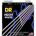 DR Strings K3 NEON Hi-Def White Electric Heavy Guitar Strings-thumbnail