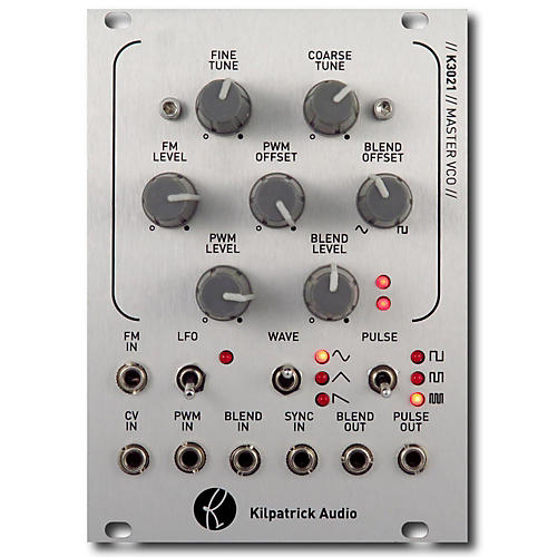 Kilpatrick Audio K3021 Master VCO Eurorack Triangle Core VCO with Waveshapers-thumbnail