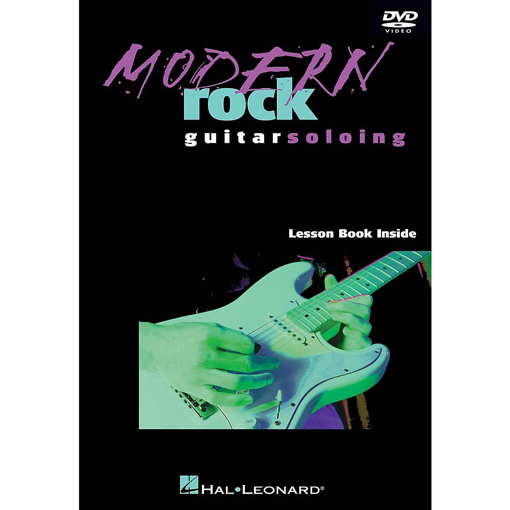 Hal Leonard Modern Rock Guitar Soloing Instructional/Guitar/Dvd Series Dvd Written By Danny Gill 1500000134197