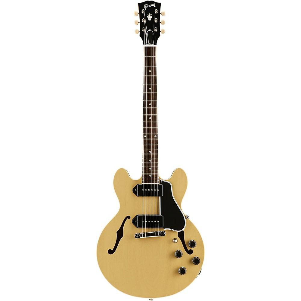 Gibson Custom 2017 Limited Run CS-336 Mahogany Semi-Hollow Body Electric Guitar TV Yellow 5-ply Black Pickguard 1500000136886