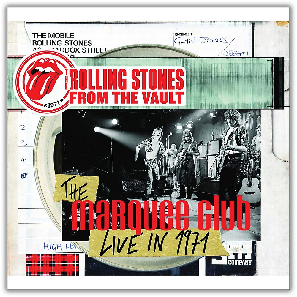 Universal Music Group Rolling Stones - From The Vault - The Marquee Club Live in 1971 Limited Edition [DVD / LP] 1500000140433