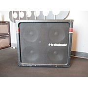 TC Electronic K410 4x10 600W Vertical Stacking Bass Cabinet