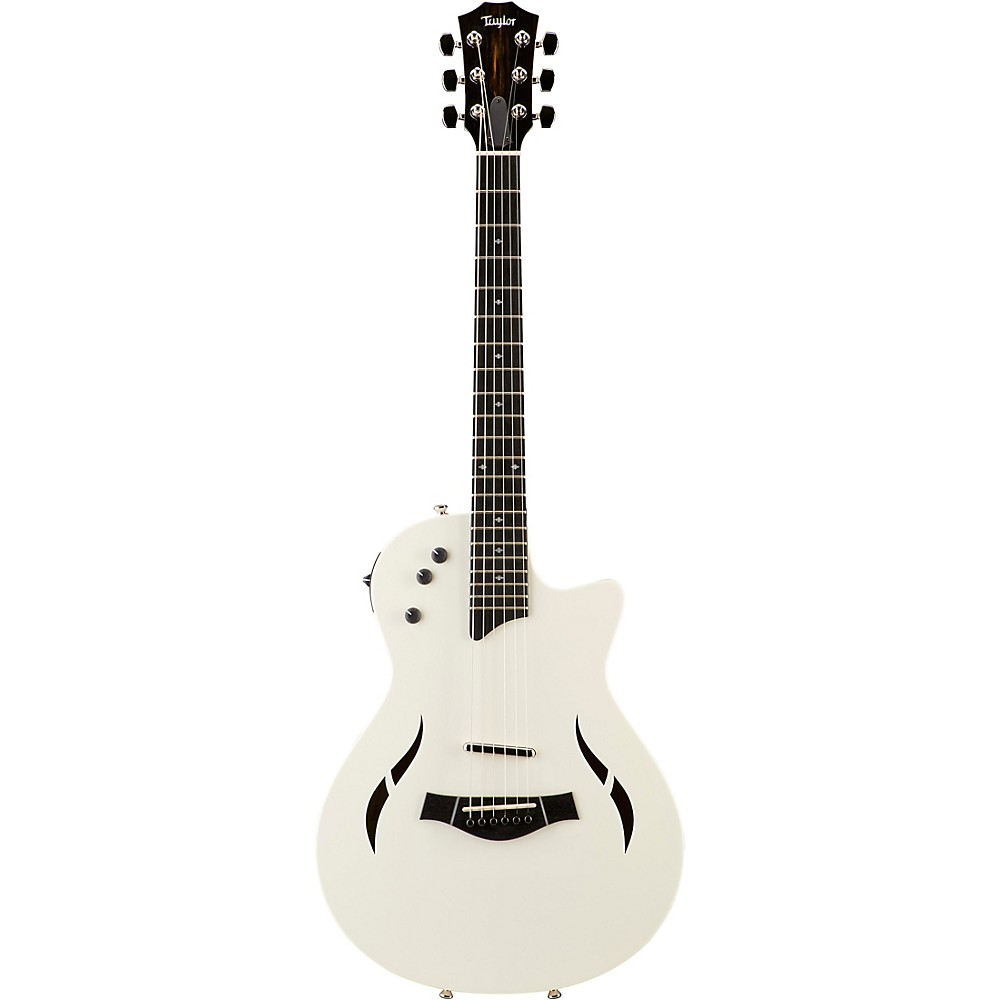 Taylor T5z Classic Dlx Limited Edition Acoustic Electric Guitar Arctic White 1500000150556