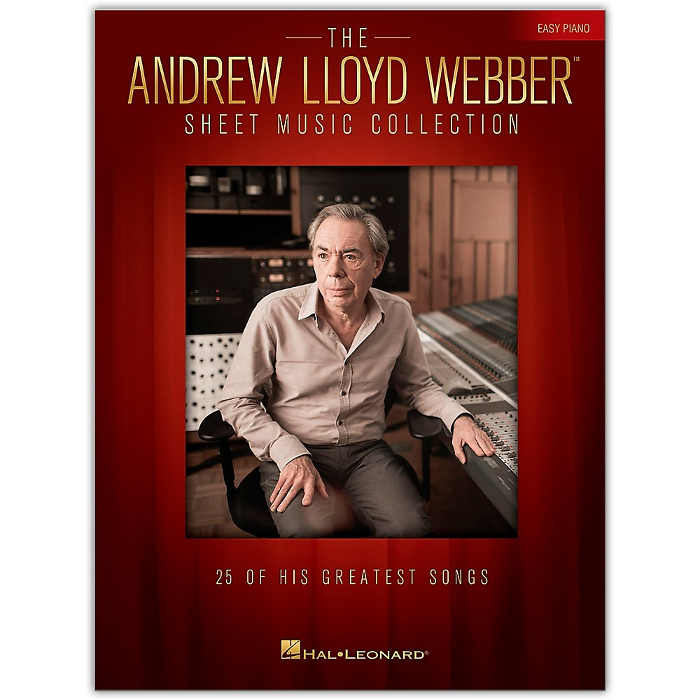 Hal Leonard The Andrew Lloyd Webber Sheet Music Collection For Easy Piano 1500000150733