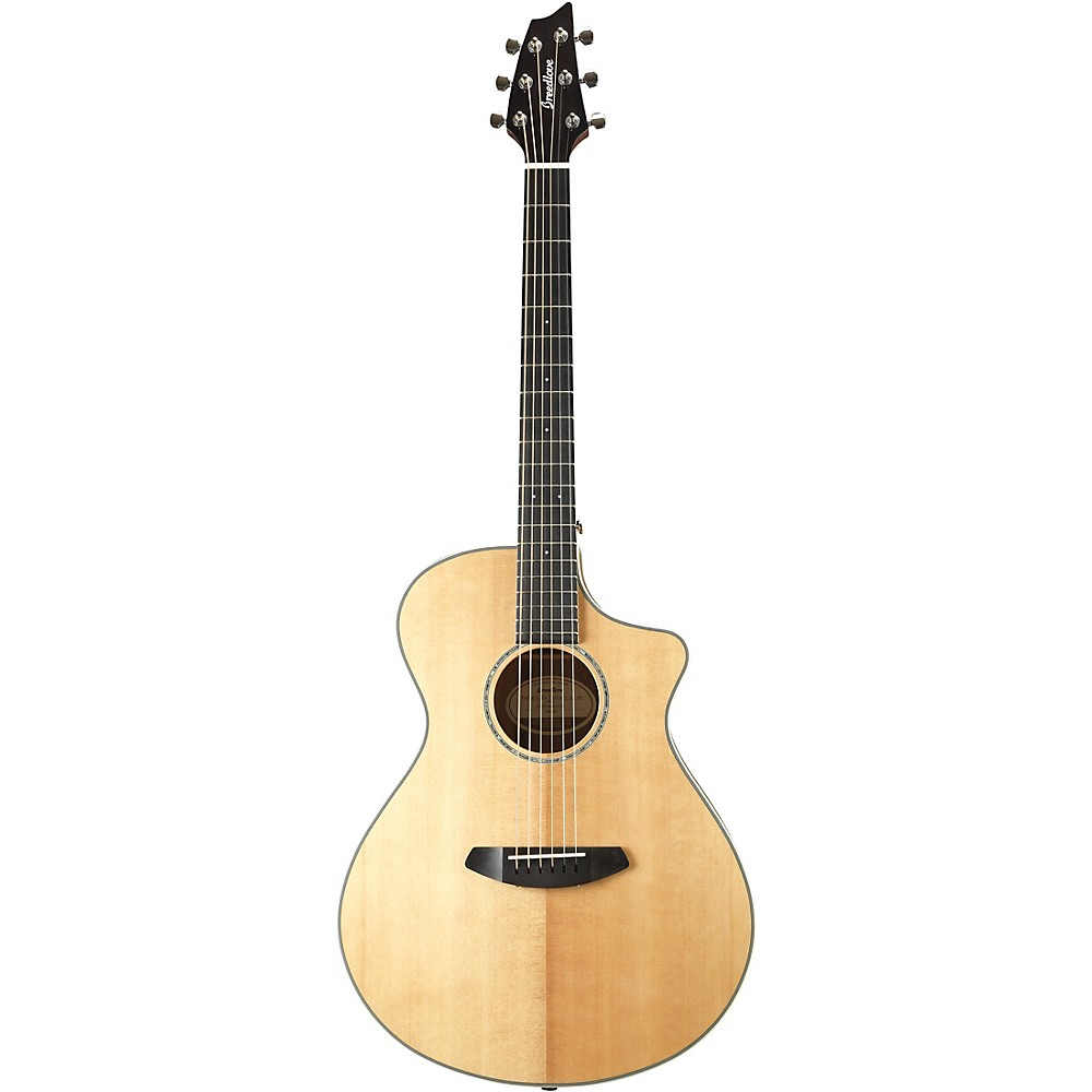 Breedlove Pursuit Exotic PSCN01CESSMY(2) Concert Acoustic-Electric Guitar High Gloss Natural 1500000152468