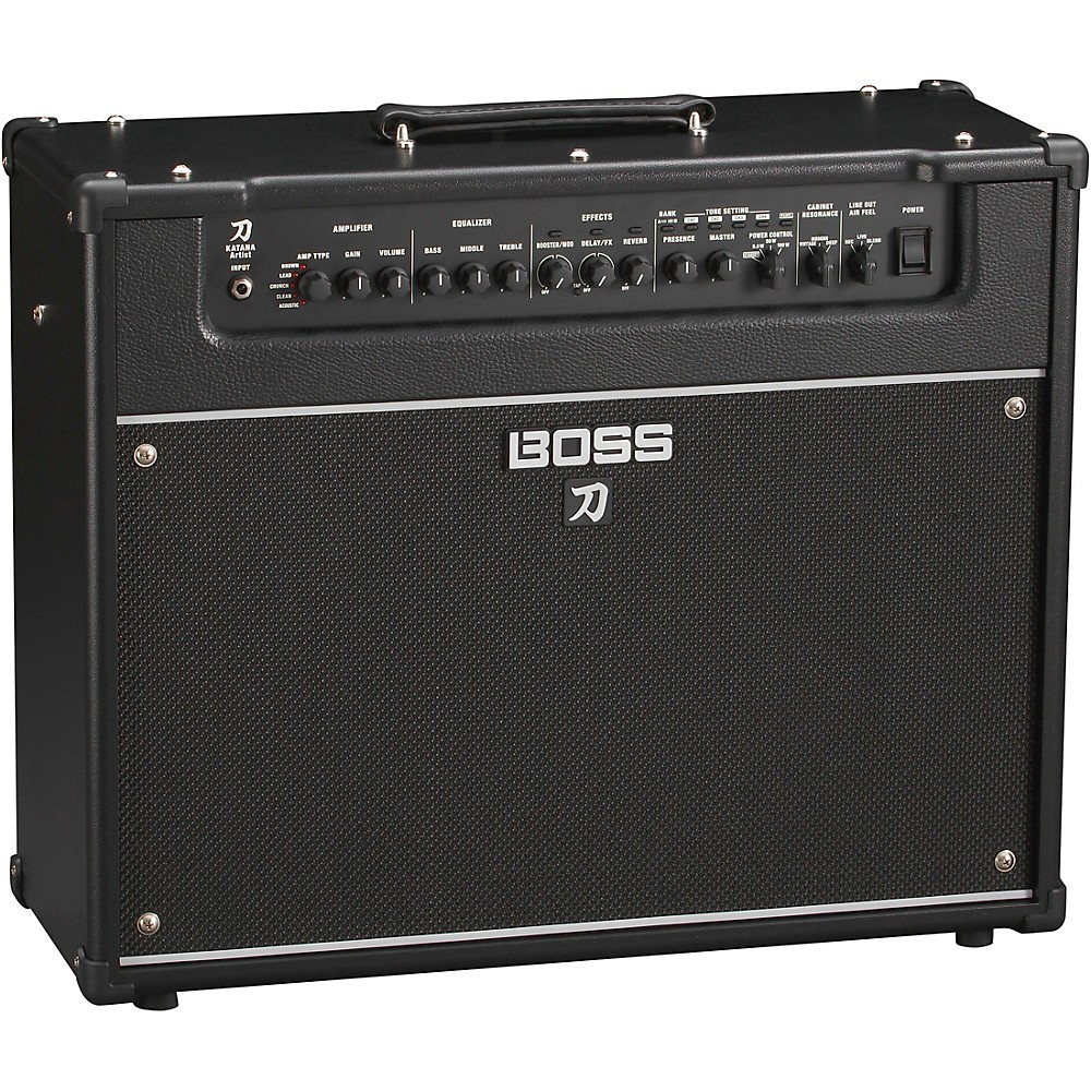 Boss Katana-Artist 100W 1x12 Guitar Combo Amplifier 1500000183618