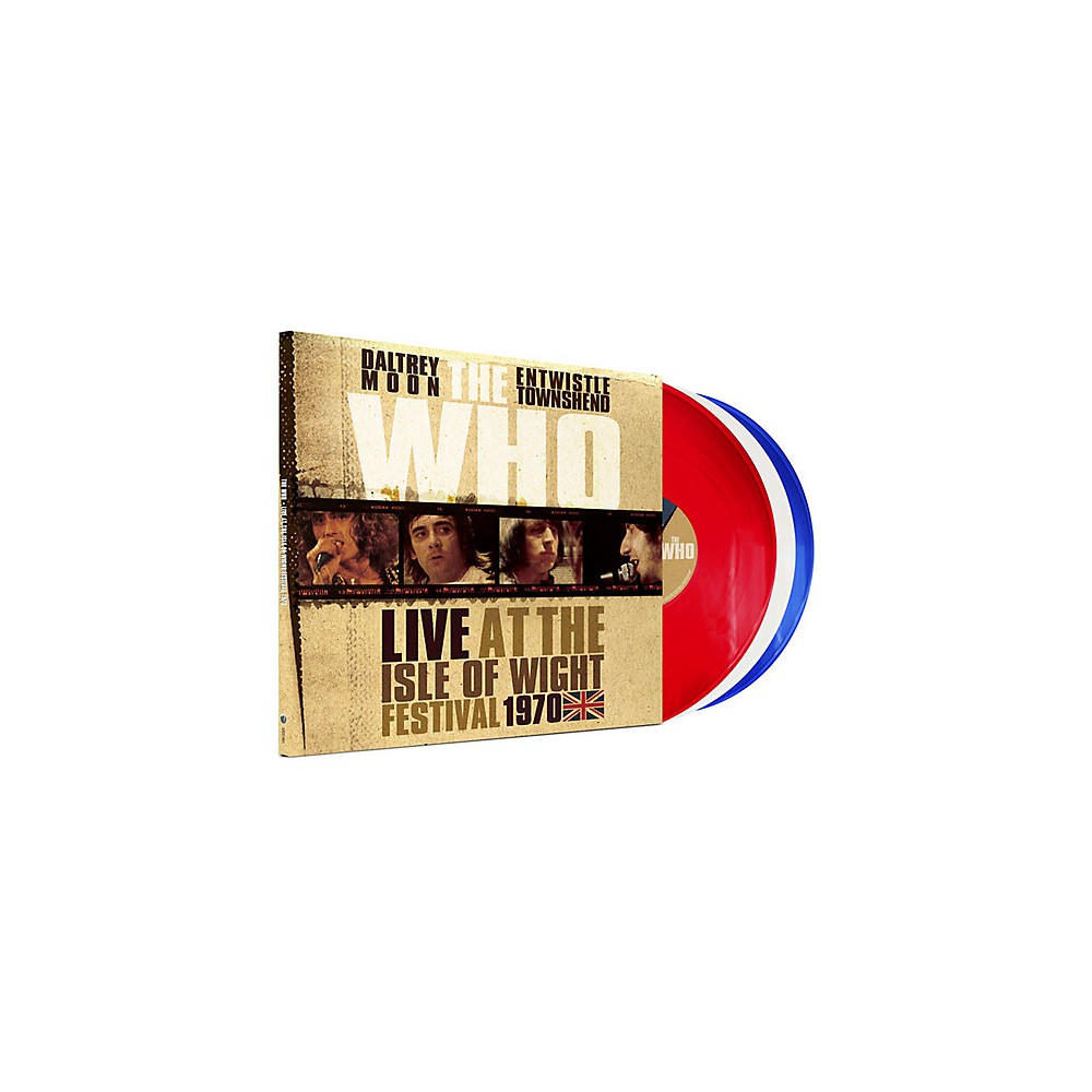 Alliance The Who Live At The Isle Of Wight Festival 1970 1500000161263