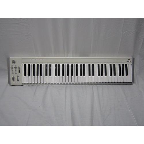 used korg k61 keyboard workstation guitar center. Black Bedroom Furniture Sets. Home Design Ideas