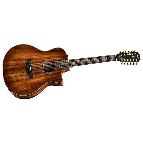 Taylor K66ce Grand Symphony 12-String Cutaway Acoustic-Electric Guitar Shaded Edgeburst