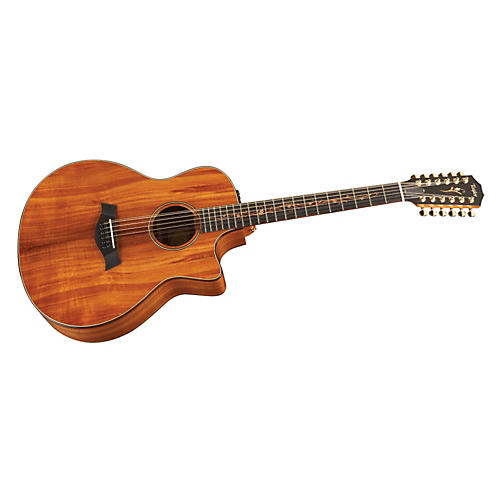Taylor K66ce Koa Grand Symphony 12-String Acoustic-Electric Guitar Natural