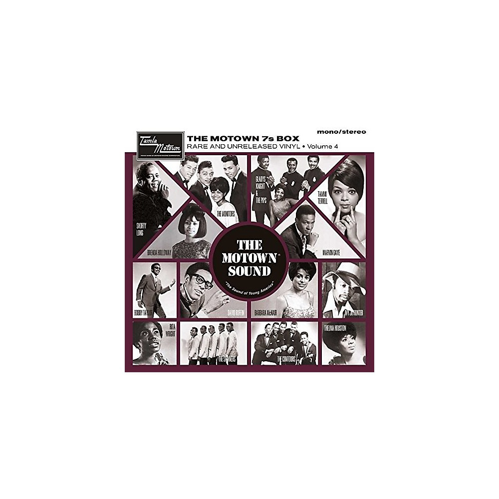 Alliance Various Artists Motown 7S Vinyl Box Volume 4 / Various 1500000188402